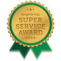 Angie's List Super Service Award winner